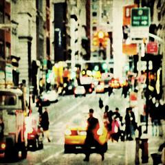 streetlife (fotobananas) Tags: life city nyc urban newyork blur texture square manhattan soho broadway streetlife canalstreet hss s95 skeletalmess fotobananas sliderssunday
