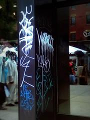 LUAS AZUL (Betty Rage413) Tags: fish chicago graffiti post were kel cmw tfo j4f bigl 2nr nyke