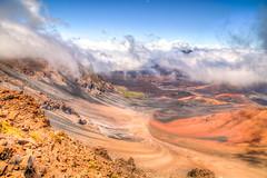 Haelakala Crater - HDR (DavinG.) Tags: travel hawaii honeymoon maui davin gegolick