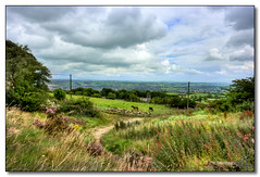Mow Cop (rjt208) Tags: sky horses horse heritage history church nature clouds fence countryside town scenery village nt wildlife hill scenic national cop mow trust stokeontrent staffordshire hilltop rjt208