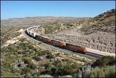 Flat Tire Repose 2 (greenthumb_38) Tags: railroad train summit locomotive 1740mm bnsf cajon eastbound cajonpass canon40d jeffreybass