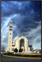 Washington DC ~ Basilica of the National Shrine of the Immaculate Conception ~ Largest in the USA (Onasill ~ Back Thursday Bye) Tags: building tower church washingtondc dc washington shrine catholic place roman basilica holy national american attraction largest conception immaculate ipad onasill