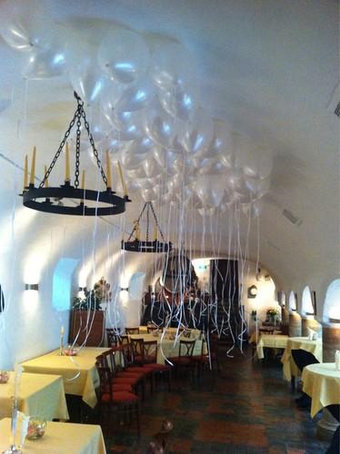 Heliumballonnen Nonnerie Prinsenkelder Delft