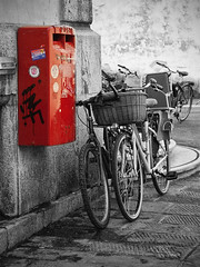 Letterbox in Lucca (Italy)