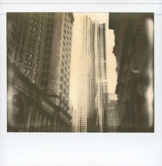 centre (davebias) Tags: nyc polaroid impossible centrestreet pz600 newyorkbygehry