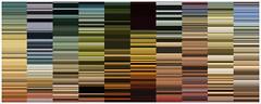 Todas as cores da arte - estudos de períodos (Gabriel Gianordoli) Tags: color art history magazine painting design graphic creative processing data editorial visualization information infographic coding dataviz