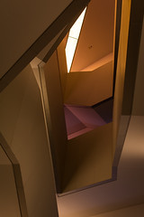 No Rhyme, No Reason (RG Rutkay) Tags: light shadow color colour geometric stair interior space rom royalontariomuseum cyrstal interconnected