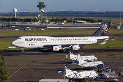 TF-AAK B744 34L YSSY Iron Maiden-1504 (A u s s i e P o m m) Tags: australia mascot newsouthwales boeing syd ironmaiden b747 sydneyairport yssy b744