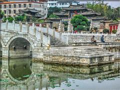 hdr-Jianshui (221) (Bruno Zaffoni) Tags: china bridge yunnan hdr cina confuciustemple jianshui