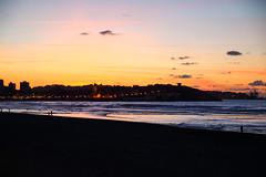 Playa de San Lorenzo. Gijn. (David A.L.) Tags: atardecer gijn asturias ocaso playadesanlorenzo