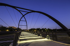 Bill Coats Bridge, Study 3 (Mabry Campbell) Tags: bridge blue usa architecture photography design photo october texas photographer image fav50 unitedstatesofamerica houston fav20 explore f90 photograph 100 bluehour fav30 clearsky hermannpark fineartphotography 2015 17mm noclouds commercialphotography fav10 flickrexplore fav100 fav200 fav300 harriscounty explored fav40 fav60 fav90 fav80 300sec fav70 fav400 tse17mmf4l hermannparkconservancy mabrycampbell billcoatsbridge october102015 20151010h6a2003