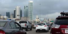 life in the city (Claudia Knkel) Tags: sanfrancisco california freeway baybridge rushhour i80 trafficjam fridaycommute