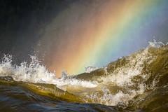 Rainbow mist - Iguassu Falls (alicecahill) Tags: mist southamerica water argentina waterfall rainbow iguassufalls parquenacionaliguazu alicecahill