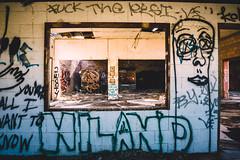 window into niland (kelly lynn richards) Tags: graffiti abandon pk saltonsea graffitiart niland desertca twophotogs whatsinthedesert