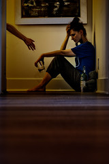 Chapter 2 - 19/52 (jrobblee) Tags: portrait selfportrait me female loneliness sad help alcohol drugs depression mania mentalhealth substanceabuse psychosis