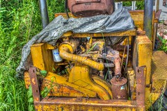 New dumper truck engine wanted (alsimages1 - Thank you for 860.000 PAGE VIEWS) Tags: road park old truck countryside site tipper rustic soil lorry works rusting wreck remains wreckage rubble landfill fill dumper corroding
