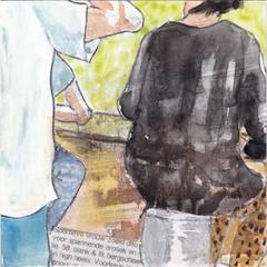 # 138 (17-05-2016) (h e r m a n) Tags: woman illustration bar back slim dress drawing zwembad cardboard herman rug carton contact vrouw fit illustratie bock karton dito oosterhout tekening jurk personalad slank 10x10cm ruckenfigur tegeltje contactadvertentie sportywoman rucke 3651tekenevent ruggenfiguur lonelyheartscolumn sportievevrouw spannendeerotiek thrillingeroticism