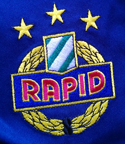 SK Rapid Wien match worn shirt 2006/07 Christian Thonhofer