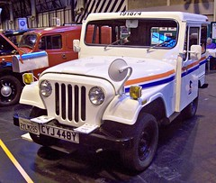 5 A M GENERAL DJ5M (1983) - US Postal Service (robertknight16) Tags: usa am jeep mail postal kaiser amc 1980s willys usmail dispatcher dj5m nec2013 cyj448y