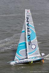 NY-VENDEE (Les Sables) | Start | Safran (imocaoceanmasters) Tags: 052016 day inside newyorkcity usa jour newyork singlehanded imoca monohull oceanmaster manhattan newyorkvendee start heli