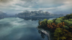 VOEC - 009 (Yousbob - Screenshotgraphy !) Tags: bridge sunset mountain lake game nature water colors contrast forest landscape ethan steam gaming carter concept vanishing beautifull