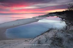 Twilight Hues: Lake Michigan (Richard Thompson) Tags: lake twilight lakemichigan lakeshore