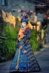La Dame de Haute-Savoie (cedric.chiodini) Tags: carnaval carnavaldyvoire yvoire canon5dmkiii canon flash profoto b1 costume masque
