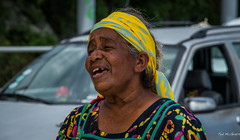 2016 - South Pacific Islands - Mar - Missing Parts (Ted's photos - For me and You) Tags: portrait face female neck nikon singing bokeh teeth singer cropped openmouth vignetting newcaledonia dents headband mar headgear 2016 tedmcgrath tedsphotos nikonfx nikond750