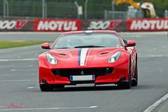 F12 Tour-De-France (AureilFerrari) Tags: auto car canon eos automobile automotive voiture coche wagen 100400 vigeant 60d worldcars aureil