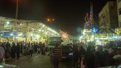 Outside El-Sayida Zeinab's Ramadan Market (Kodak Agfa) Tags: egypt ramadan ramadan2016 lanterns ramadanlanterns markets sayidazeinab cairo islamiccairo citizenjournalism mideast middleeast northafrica africa mena