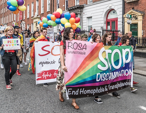 PRIDE PARADE AND FESTIVAL [DUBLIN 2016]-118007