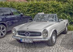Mercedes-Benz SL 250 (gRuGo) Tags: car sl mercedesbenz hdr 250 cabriolet pagode darktable