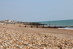 Eastoke Beach (steve 2001) Tags: beach sea hampshire summer groyne