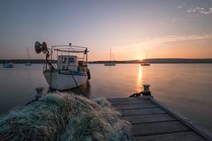 IMG_2295 (stefan.el77) Tags: fischerboot sea sunset boats fischernetz fishing boat net croatia kroatien 80d