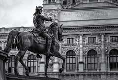 Equestrian Statue in Vienna's Maria-Theresien-Platz (ManuelHurtado) Tags: countries places archduke architectural architecture art austria austrian bronze building charles city equestrian europe european famous general heldenplatz historic history hofburg horse horseman landmark monument museum old palace prince sculpture sightseeing sky statue tourism travel urban vienna wien at