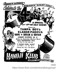 1946 hawaii club july 4 (albany group archive) Tags: ny boys club jack hawaii 4 jimmy july hawaiian albany drummond elanor bori 1946 givens wampa covan padove