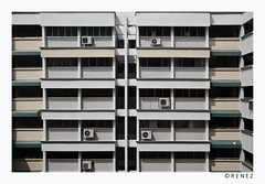 One of those Facade () Tags: building architecture facade singapore hdb units