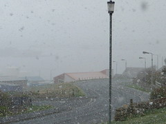 Spring in Shetland. (R Buchan) Tags: snow weather lumix spring panasonic fourseasons shetland fz45