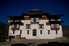District Office - East Bhutan (aleemsm) Tags: architecture office shadows bhutan district noon 12oclock