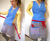 ooak artist craft apron (jessie b @ spunkidoodle) Tags: artist handmade apron friendly eco sculptor pockets smock repurposed crafter scrapbooker upcycled spunkidoodle
