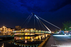 Ponte do Lao (Fernando Mnica) Tags: bridge night ponte noite 2012 aveiro fmonica fernandomnica