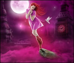 [ Fallin Free ] Omar Rodriguez V. ( Omar Rodriguez V.) Tags: above pink sky moon color london tower art clock beautiful lady night digital photomanipulation painting hair artwork heaven paradise colours arte purple princess dove painted madonna free queen falling v fantasy midnight sailor poison temptation omar tones rodriguez velasco nightwish fallin sirenia