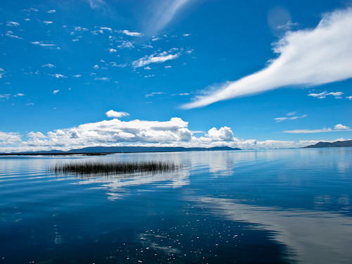 Lake Titicaca seascape - Peru