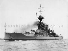 HMS Emperor of India (Image Ref: warship1848) (ww2images) Tags: battleship warship 1930 royalnavy waratsea emperorofindia navyphoto hmsemperorofindia britishships warshipimages warshipimagescom warshipphotos