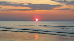 Sunrise on Hilton Head Island - March 26, 2012 (spacemike) Tags: ocean sea sky cloud sun seascape sol beach sc nature water clouds sunrise dawn seaside sand surf waves seascapes horizon earlymorning atlantic carolina atlanticocean hiltonhead hhi hiltonheadisland hiltonheadislandsc