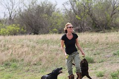 """Kristin and Dogs • <a style=""""font-size:0.8em;"""" href=""""http://www.flickr.com/photos/77680067@N06/7028462107/"""" target=""""_blank"""">View on Flickr</a>"""