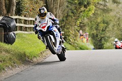 Guy Martin, leading the first open race at the Cookstown 100 race. (the damascus one) Tags: ireland tas tyco roadracing cookstown guymartin