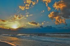 Destin, FL Sunrise (photographyguy) Tags: destin fl florida beach clouds sunrise nature waves gulfofmexico ocean horizon