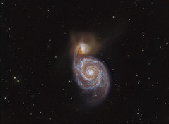 The Whirlpool Galaxy M51 LRGB (Terry Hancock www.downunderobservatory.com) Tags: camera sky color monochrome wheel night stars spiral photography mono pier backyard fotografie photos 10 space ngc shed science images off astro observatory telescope filter whirlpool galaxy canes terry astronomy imaging hancock messier ccd universe f8 cosmos technologies axis paramount luminance osc the teleskop astronomie byo deepsky 5194 astrograph venatici guider starlightxpress astrotech Astrometrydotnet:status=solved qhy5 ritcheychrtien Astrometrydotnet:version=14400 at2ff mks4000 qhy9m gt110s wwwdownunderobservatorycom Astrometrydotnet:id=alpha20120420932538
