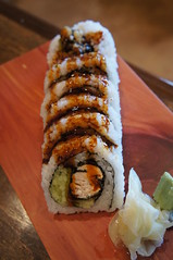 Fried Tuna Roll (knightbefore_99) Tags: japan vancouver japanese ginger rice sauce tasty delicious more roll wasabi tuna fried eastvan riz arroz sushinanaimo